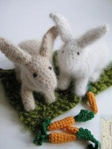 Szydełkowe króliczki