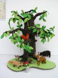 Szydelkowe zwierzatka lesne