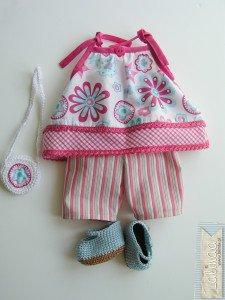 Oliwia- lalka szmaciana