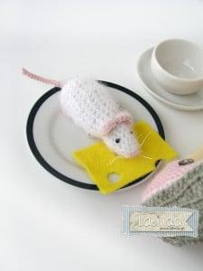 Szydelkowa mysz Lalinda