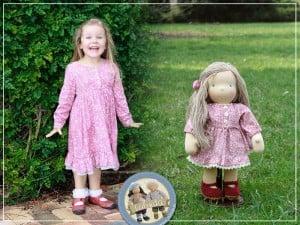 Dziewczynka i lalka Lalinda