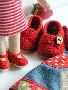 Buty dla lalki Lalinda