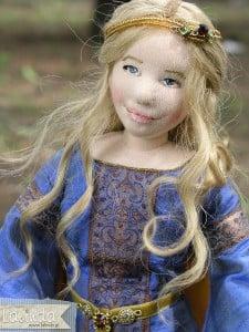 Lalka artystyczna elf Lalinda