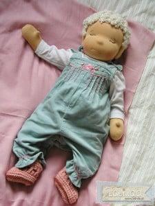 Lalka obciążana niemowlaczek Lalinda