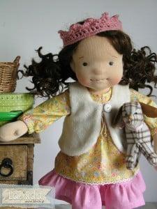 Arystyczna lalka szmaciana Lalinda