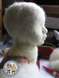 Lalka szmaciana artystyczna Lalinda
