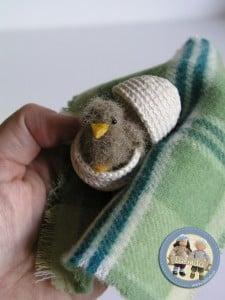 Szydełkowy ptaszek Lalinda