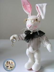 Biały królik Lalinda