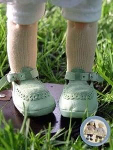 Buty dla lalki
