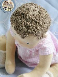 Wyszywane włosy Lalinda